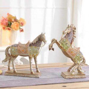Cặp Ngựa Để Bàn DDB010