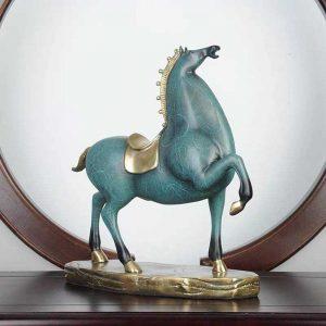 Ngựa Xanh Để Bàn DDB009